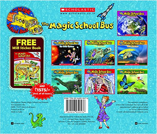 MAGIC SCHOOL BUS PRESENTS (7 BOOKS) [Product Bundle] NA (Presents Bus Magic School)
