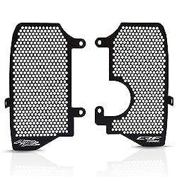 CRF1000L Africa Twin Kühlerschutz Motorrad Aluminiumlegierung Kühlerabdeckung Schutzgitter für CRF1000L Africa Twin/ADV Sports 2016 2017 2018 2019