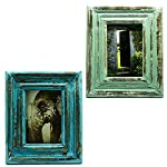 Built with Love by Casa Decor, This charming frame made from high quality Resin. The asymmetrical width of the borders simply adds to the exquisiteness of the display. A wonderful way to treasure happiness. Comes equipped with a stand and can also be...
