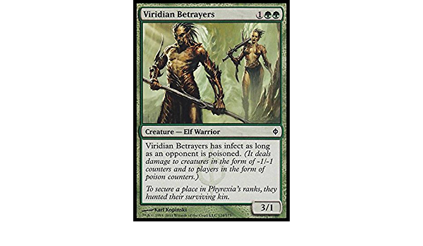 Viridian Betrayers MTG NPh Ita 4x Traditori Viridiani