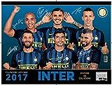calendario INTER 2017 UFFICIALE da collezione - (44x33)