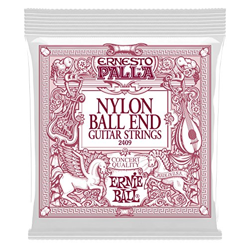 Ernie Ball Ernesto Palla Schwarz & Gold Ball-End Nylon Konzertgitarrensaiten