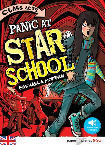 Panic at Star School - Livre + mp3 par Michaela Morgan