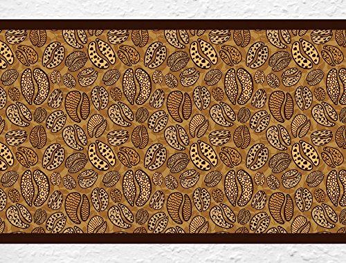 I-love-Wandtattoo b-10054 Bordo decorativo adesivo da parete, motivo I chicchi di caffè, cucina Border Scene (Border Scena)