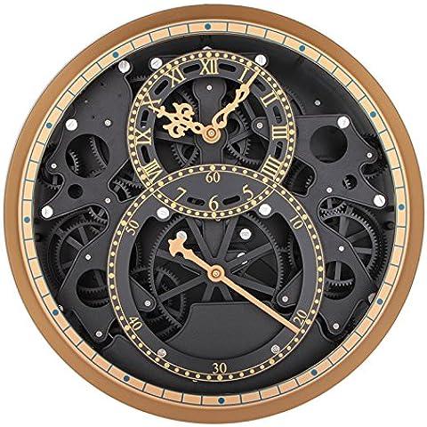 FEI&S ingranaggio orologio da parete campana ingranaggi creativi soggiorno orologio da parete Orologi meccanici #45 - Tropical Luce Di Notte