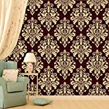 PPD Wallpapers. High Quality Stone Brick Wall Effect Pre Gummed Wallpaper (Self Adhesive) (3 Tiles / 5.5 SqFt) (5)