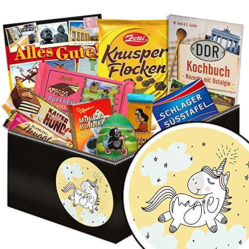 Einhorn   Schokolade Ostpaket für Frauen   Schokoladen Geschenkset M