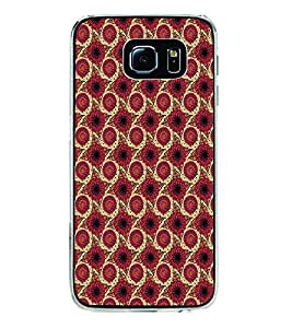 ifasho Designer Phone Back Case Cover Samsung Galaxy S6 Edge :: Samsung Galaxy S6 Edge G925 :: Samsung Galaxy S6 Edge G925I G9250 G925A G925F G925Fq G925K G925L G925S G925T ( Skull Wings )