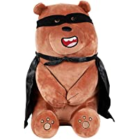 """MINISO We Bare Bears Plush Grizzly 10"""" Lovely Sitting Stuffed Toy"""