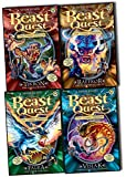 Beast Quest Series 14 Collection - 4 Books Collection Pack Set (Beast Quest: 79: Raffkor the Stampeding Brute, Beast Quest: 80: Vislak the Slithering Serpent, Beast Quest: 81: Tikron the Jungle Master, Beast Quest: 82: Falra the Snow Phoenix)