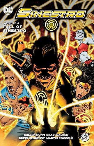 Sinestro Vol. 4: The Fall of Sinestro (Corps Das Action-figuren)