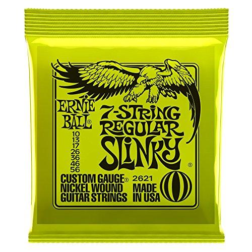 Ernie Ball Slinky 7string 010-056 · Saiten E-Gitarre