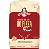 JOSEF MARC 00 Pizza Flour, 2 LBS - Unbleached & Medium Protein Flour, Morcote Pizza Flour Italian Type 00 Flour