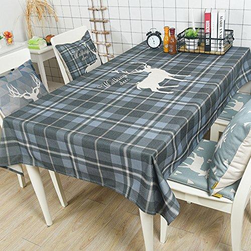 Woo.L.L Nordeuropa Bettwäsche runden Tisch rechteckige Tischdecke Tischdecke Coffee Table cover Tuch dicken plaid Handtuch,100*140cm