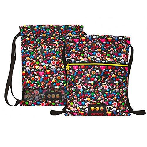 Imagen de  saco con cordones de emoji