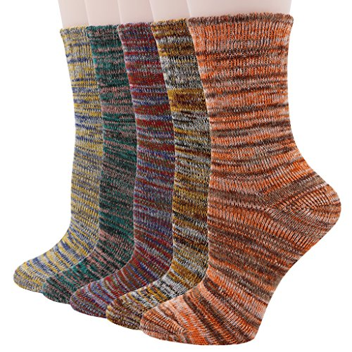 Pomlia® Le donne 5 paia Crew Socks