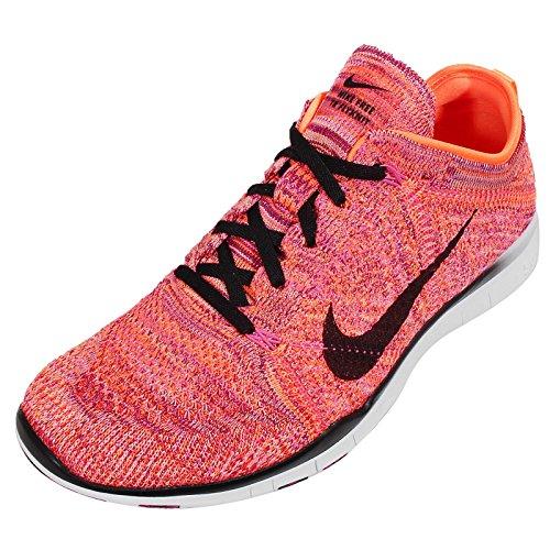 Free Shoes TR Flyknit FORMAZIONE, scarpe da ginnastica (718785-801) Arancione (arancione)