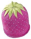 Fruchtige Erdbeer-Sommermütze für Babys & Kleinkinder in rosa, Kopfumfang 50-52cm