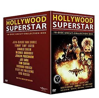 Hollywood Superstar Uncut-Collection-10erBox (Leon - Black Eagle - Moving Target - Executive Command - Crash Dive - The Demolit