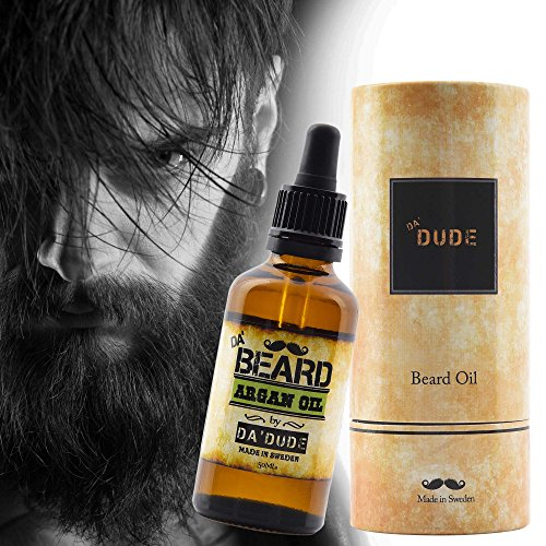 DaDude-DaBeard-Oil-for-Men-in-Premium-Gift-Box-Best-Care-100-Natural-Unscented-Prime-Oils-for-Dry-or-Sensitive-Skin-Leave-in-Conditioner-Beard-Growth-Grooming-Argan-Jojoba-50ml