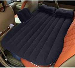 ASkyl Travel Car Bed Back Seat Inflatable Mattress Air Bed (Color May Vary)