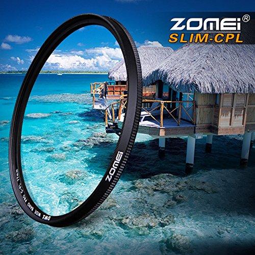 Zomei Ultradünner CPL-AGC-Filter aus optischem Glas, Profi-Fotografie, Polarisationsfilter 72mm