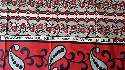 Kanga Khanga // playa navidello wasserpfeifenversand saresia/bebé navidello/africano Leso telas multicoloras de la ropa