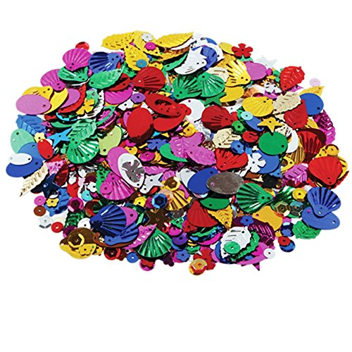 Creation Station Confetti and Sequins Class Pack 100g