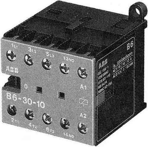 ABB-ENTRELEC B6 - MINICONTACTOR -3001 380V 50/60 TORNILLO