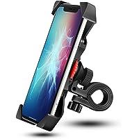Grefay Support de Vélo Moto Téléphone Guidon de Vélo Moto Berceau Collier avec Rotation 360 pour 3,5 à 6,5 Pouces GPS…