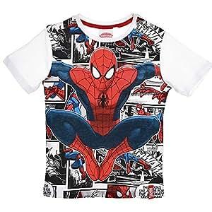 Maglietta Ragazzo 38 Shirt Bambino Anni Sun T Spiderman City MSGqVUzLp