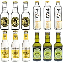 4x3 Tonic Water - 1724, Thomas Henry, Fentimans, Fever-Tree