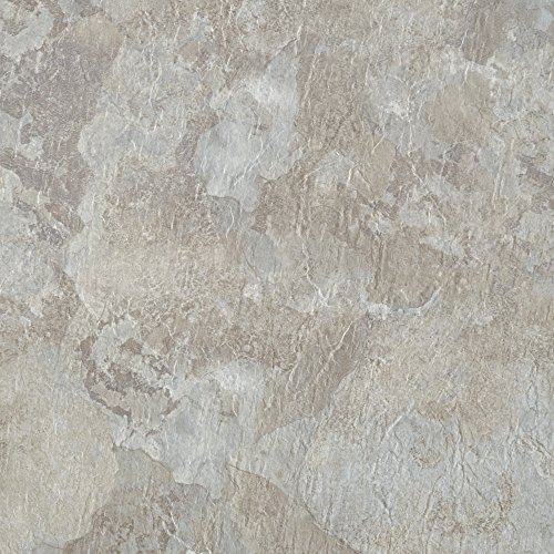 Achim Home Furnishings MJVT180210 Majestic Vinyl Floor Tile, 18 X 18  Inches, Light Gray