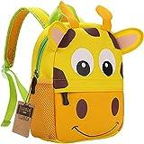 Mochila para niños, Animal Mochila Escolar TEAMEN® Toddler Kids Mochila Escolar para niños pequeños, Mochila para 2-5 años (J