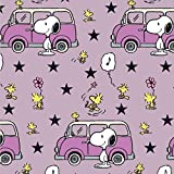 Snoopy Peanuts VW Bus Bully Rosa Pink Flieder - Jersey
