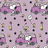 Snoopy Peanuts VW Bus Bully Rosa Pink Flieder - Jersey