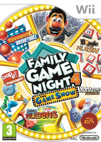 [UK-Import]Hasbro Family Game Night 4 The Game Show Edition Wii