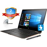 HP Spectre x360 13t Convertible 2-in-1 Laptop in Dark Ash Silver (Intel 8th Gen i7-8550U, 16GB RAM, 2TB Sata SSD, 13.3\ FHD 1