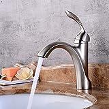 ETERNAL QUALITY Badezimmer Waschbecken Wasserhahn Messing Hahn Waschraum Mischer Mischbatterie Tippen Sie auf küchenarmatur Spüle Wasserhahn Erkältung kann in der Wand T