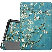 Fintie iPad mini 4 Funda - Ultra Slim Fit Smart Case Funda Carcasa con Stand Función y Auto-Sueño / Estela para Apple iPad mini 4 (2015 Versión), Blossom