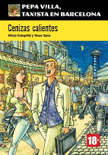 Portada del libro Cenizas calientes (Pepa Villa, taxista en Barcelona)