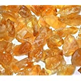 Reiki Crystal Products Natural Citrine Raw Healing Crystals / Healing Gemstone 100 Gms