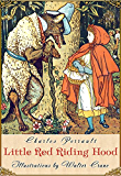 Little Red Riding Hood (Illustrated) (Fairy eBooks) (English Edition)