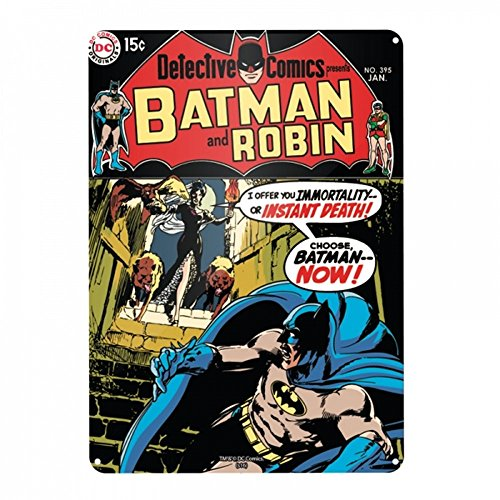 DC Comics - Batman - A3 Blechschild - Detective Comics - Batman & Robin