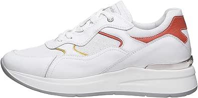 Nero Giardini E010507D Sneakers Donna in Pelle E Tela