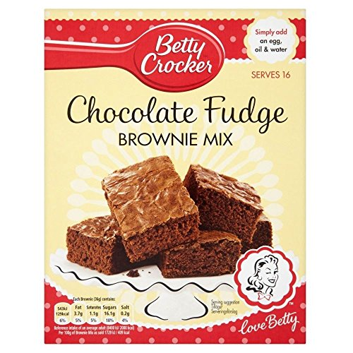 Betty Crocker Mix Di Cioccolato Fondente Brownie (415g) (Confezione da 2)