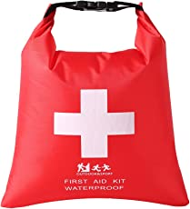 IJARP Waterproof Emergency First Aid Empty Bag Travel Dry Bag Camping Hiking Kayak