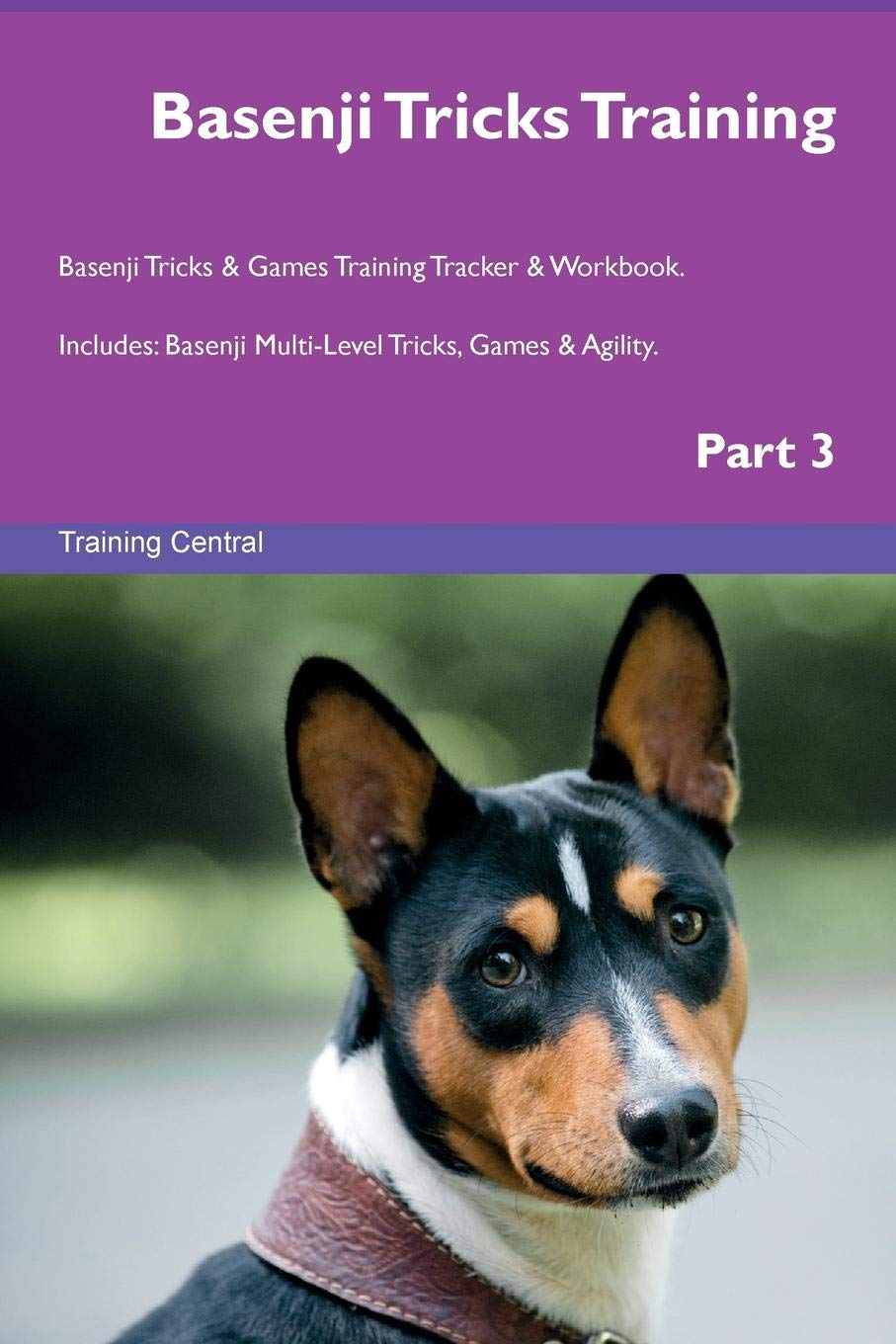 Basenji Tricks Training Basenji Tricks & Games Training Tracker & Workbook.  Includes: Basenji Multi-Level Tricks, Games & Agility. Part 3