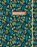Briefpapier jungle (groen)