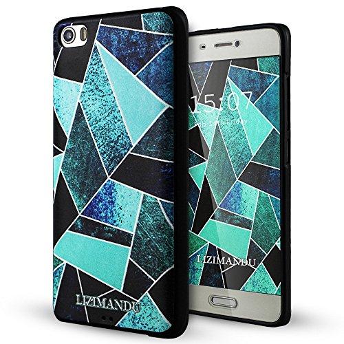 Xiaomi Mi5 Funda,Lizimandu 3D Patrón Protectiva Carcasa de Silicona Gel TPU estrecha...